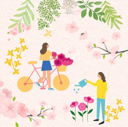 이제 봄이 왔나봄~!