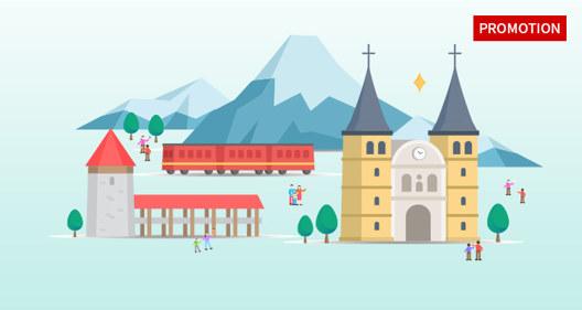 스위스 여행 기회를 잡아보세요!