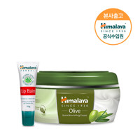 Olive Skin Cream 150ml+Lip balm 10g