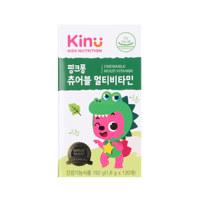 키누 핑크퐁 츄어블 멀티(영양균형,성장,뼈건강,면역건강)