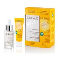 Anti-wrinkle face suncare+Vinoperfect radiance serum set