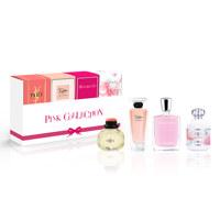 핑크 여성 향수 미니어쳐 컬렉션
