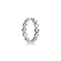 Infinity silver ring 48호