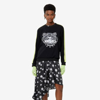 SOFT SWEATER TIGER EMBROIDERY_WOMEN XS
