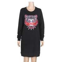 CLASSIC TIGER SWEATSHIRT DRESS_WOMEN L