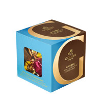 Milk Chocolate Assortment G Cube Truffle (22 pieces)