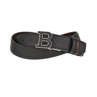 B BUCKLENAMEL 35 M/130_110 BLACK