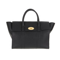 Bayswater with Strap Small Classic Grain
