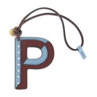 Bi - Co Leather Keyring - P