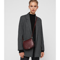 POLLY SM RND XBODY / BORDEAUX RED / <One Size>