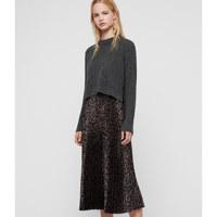 LEOWA DRESS / CHARCOAL/PEWTER / M