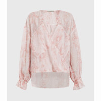 PENNY MASALA TOP / SOFT PINK / Size 6