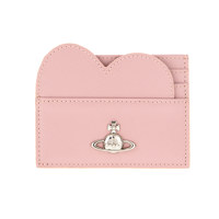 PIMLICO HEART CARD HOLDER PINK