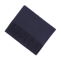 WOOL EMBROIDERY NAVY BLUE