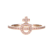 WILBA RING  PINK GOLD M