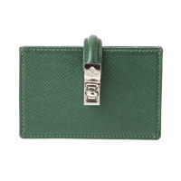 SOFIA CARD HOLDER WITH STRAP GREEN
