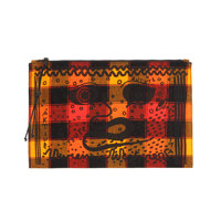 MAASAI SHUKA Pouch ORANGE