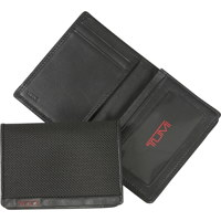 Alpha Gusseted Card Case With ID