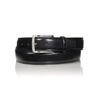 Contrast Edge Leather Belt