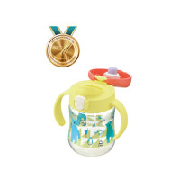 TLI 드링킹컵 옐로우(TLI Clear Drinking Bottle Mug Y)