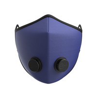 클래식 어반 브리딩 마스크 - 솔리드 블루 (L)