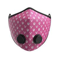 키즈 어반 브리딩 마스크 - 와일드라이프 핑크 (S)