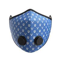 키즈 어반 브리딩 마스크 - 와일드라이프 블루 (XS)