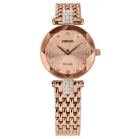 Facet Strass Rose Mesh Band Rose 25 mm