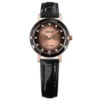 Aura Rose Black to Rose Gradations Leather Black 26 mm