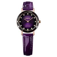Aura Rose Black to Purple Gradations Leather Purple 26 mm
