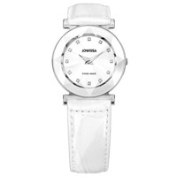 Facet Steel White Leather White 31 mm