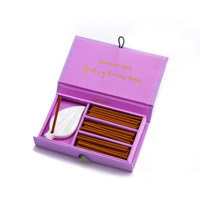 Incense in Silk Box Lavender