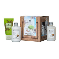 Coconut travelling set