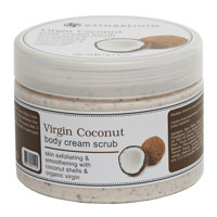 Virgin Coconut body cream scrub