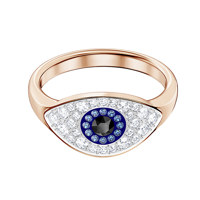 DUO:RING EVIL EYE DMUL/ROS 52