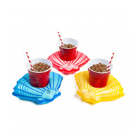 summer seashell beverage boats