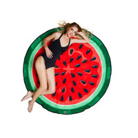 gigantic watermelon beach blanket
