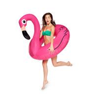 giant pink flamingo pool float