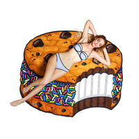 gigantic ice cream cookie beach blanket