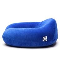목베개 하이 블루