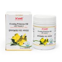 달맞이꽃종자유 200캡슐 (감마리놀렌산, 비타민E, 혈중 콜레스테롤, 혈행개선, 월경전 상태, 면역과민반응 피부상태 개선 도움)