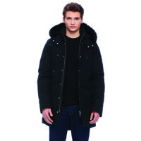 Mens Stirling Parka/ All Black/ L