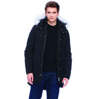 Mens Stirling Parka/ Black/ L