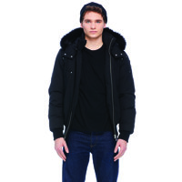 Mens Bomber/ All Black/ L
