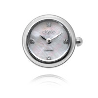 LUNE BLANCHE ROUND 참시계 CL2802WH