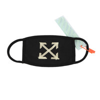 TAPE ARROW MASK BLACK BEIGE