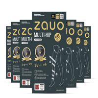 ZAUO 레깅스 800D 블랙 숏