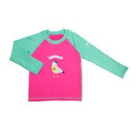 아동 래쉬가드 해피크루즈 핑크 버드 XL
