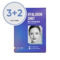 라라랩 히알루론샷 모이스처라이징 마스크-1매입 3+2