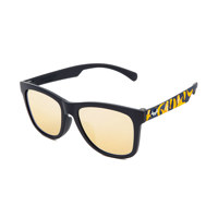 KD5001-C06 블랙+옐로우패턴 로즈골드미러렌즈 선글라스